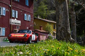Angelo Lombardo, Harshana Ratnayake (Porsche 911 SC RS #8), CAMPIONATO ITALIANO RALLY AUTO STORICHE