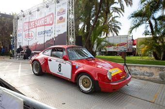 Angelo Lombardo, Harshana Ratnayake (Porsche 911 SC RS), CAMPIONATO ITALIANO RALLY AUTO STORICHE