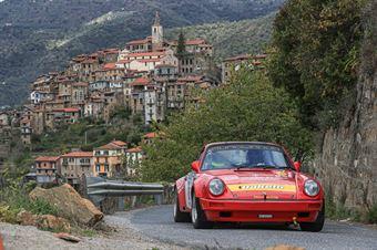 Angelo Lombardo Harshana Ratnayake, Porsche 911 SC RS #8, CAMPIONATO ITALIANO RALLY AUTO STORICHE