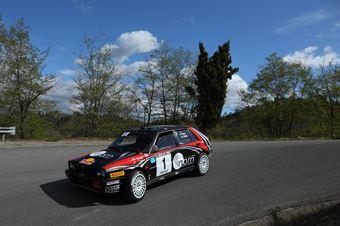 Lucky, Fabrizia Pons (Lancia Delta Integrale 16v #1), CAMPIONATO ITALIANO RALLY AUTO STORICHE