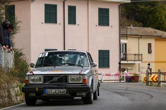 Siegfried Mayr, Renate Mayr (Volvo 244 #75), CAMPIONATO ITALIANO RALLY AUTO STORICHE