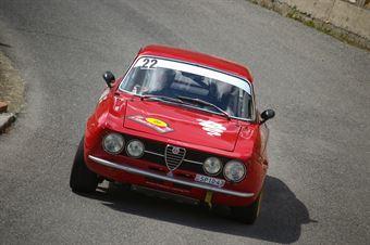 Laszlo Mekler, Miko Mekler (Alfa Romeo GTAm 1750 #22, Scuderia Coppa Amici), CAMPIONATO ITALIANO RALLY AUTO STORICHE