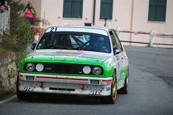 Jean Francois Mourgues, Denis Giraudet (BMW M3 #21), CAMPIONATO ITALIANO RALLY AUTO STORICHE