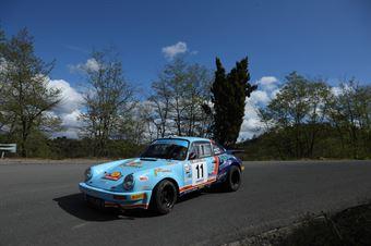 Matteo Musti, Claudio Biglieri(Porsche 911 RSR, gr2000 #11), CAMPIONATO ITALIANO RALLY AUTO STORICHE