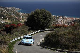 Mattteo Musti, Claudio Biglieri (Porsche 911 RSR), CAMPIONATO ITALIANO RALLY AUTO STORICHE