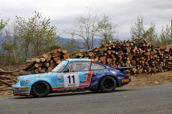 Matteo Musti Claudio Biglieri, Porsche 911RSR #11, CAMPIONATO ITALIANO RALLY AUTO STORICHE