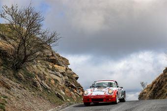 Maurizio Pagella, Roberto Brea (Porsche 911 Carrera RS #24, RODODENDRI HISTORIC RALLY), CAMPIONATO ITALIANO RALLY AUTO STORICHE