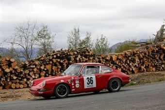 Antonio Parisi, Giuseppe D'Angelo (Porsche 911S #36, Rododedri Historic Rally), CAMPIONATO ITALIANO RALLY AUTO STORICHE