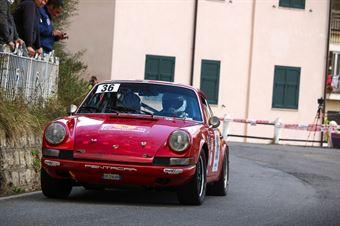 Antonio Parisi, Giuseppe D'Angelo (Porsche 911S #36, Rododedri Historic Rally), 36° Sanremo Rally Storico, CAMPIONATO ITALIANO RALLY AUTO STORICHE