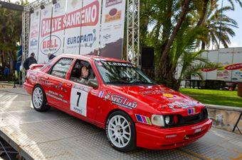 Valter Pierangioli, Piercarlo Capolongo (Ford Sierra Coswort 4x4,#7, Proracing SRL), CAMPIONATO ITALIANO RALLY AUTO STORICHE
