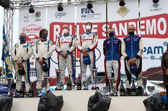 36° Sanremo Rally Storico, podio, CAMPIONATO ITALIANO RALLY AUTO STORICHE