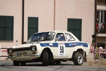 James Potter, Tim Sayer (Ford Escort mK1 #58, FLEXIFLY RALLY TEAM), CAMPIONATO ITALIANO RALLY AUTO STORICHE