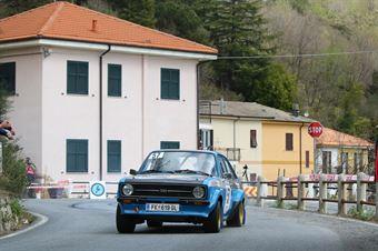 Richard Ronay, Lucie Ronay (Ford Escort #57, RONAY RACING), CAMPIONATO ITALIANO RALLY AUTO STORICHE