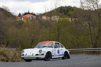 Nicola Salin, Paolo Protta (Porsche 911S #48), CAMPIONATO ITALIANO RALLY AUTO STORICHE