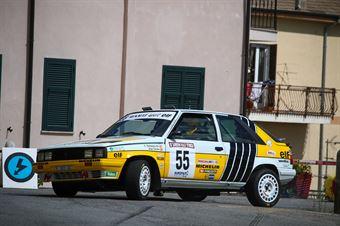 Cao Sampayo, Alejandro Cid Tabarez (Renault 11 Turbo #55, PAST RACING), CAMPIONATO ITALIANO RALLY AUTO STORICHE