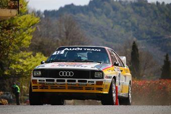 Silvasti Ville, Risto Pictilainen (Audi Quattro A2 #12), CAMPIONATO ITALIANO RALLY AUTO STORICHE