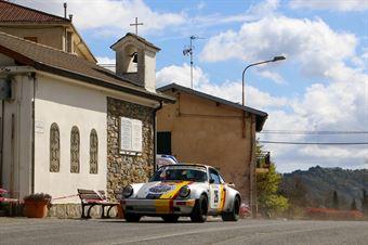 Ermanno Sordi,Romano Belfiore (Porsche 911 SC RS #26, TEAM BASSANO S.S.D.a.r.l.), CAMPIONATO ITALIANO RALLY AUTO STORICHE