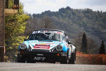 Marco Superti, Battista Brunetti (Marco Bertinotti, Andrea Rondi (Porsche 911 #15), CAMPIONATO ITALIANO RALLY AUTO STORICHE