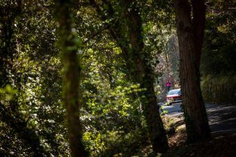 Edoardo Valente, Jeanne Francoise (Lancia rally 037, #27), CAMPIONATO ITALIANO RALLY AUTO STORICHE