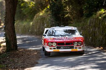 Valente Edoardo, Jeanne Francoise Revenu (Lancia Rally 037 #28), CAMPIONATO ITALIANO RALLY AUTO STORICHE