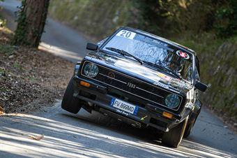 Enrico Volpato, Samuele Sordelli (Ford Escort Rs #20, Team Bassano S.S.D.a.r.l), CAMPIONATO ITALIANO RALLY AUTO STORICHE