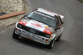 Zippo, Piceno(Audi Quattro #4, Audi Quattro HRT #4), CAMPIONATO ITALIANO RALLY AUTO STORICHE