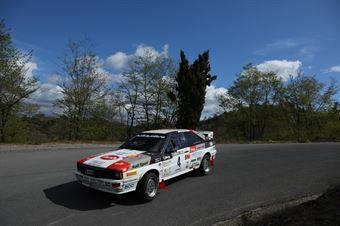 Zippo, Denis Piceno (Audi Quattro #4), CAMPIONATO ITALIANO RALLY AUTO STORICHE