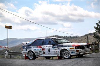 Zippo (Audi Quattro #4, Audi Quattro HRT #4), CAMPIONATO ITALIANO RALLY AUTO STORICHE