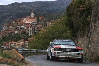 Andrea Zivian Denis Piceno, Audi Quattro #4, CAMPIONATO ITALIANO RALLY AUTO STORICHE