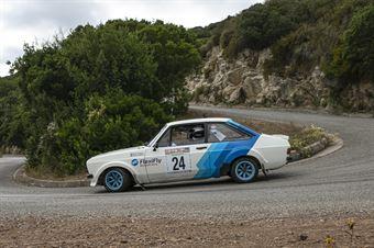 GRAHAM ERNIE   GRAHAM KAREN, FORD ESCORT RS 1.8 R #24, CAMPIONATO ITALIANO RALLY AUTO STORICHE