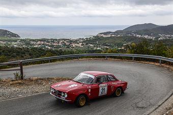 MEKLER LASZLO   MEKLER EDIT,  ALFA ROMEO GTAM #21 , CAMPIONATO ITALIANO RALLY AUTO STORICHE