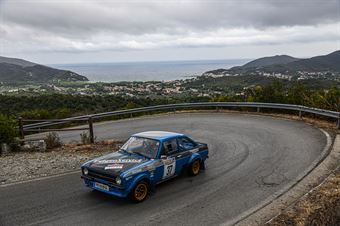 RONAY RICHARD   RONAY LUCIE AUT, FORD ESCORT RS 1.8 R #37, CAMPIONATO ITALIANO RALLY AUTO STORICHE