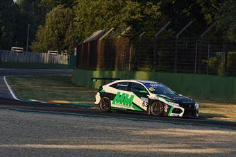 Akhmadov Ibragim Alborghetti Emanuele, Honda Civic FK7 H70  #63, MM Motorsport, TCR ITALY TOURING CAR CHAMPIONSHIP