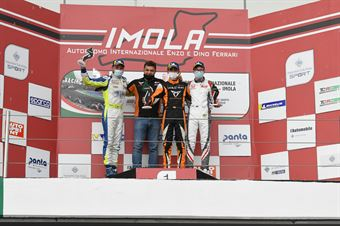 Podium race 2, TCR ITALY TOURING CAR CHAMPIONSHIP