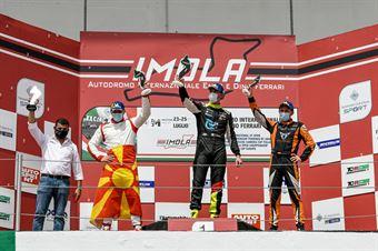 Podium TCR Race 1, TCR ITALY TOURING CAR CHAMPIONSHIP