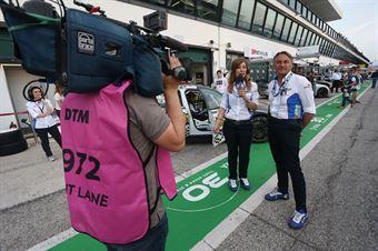 Fiammetta La Guidara e Tarcisio Bernasconi, TCR ITALY TOURING CAR CHAMPIONSHIP