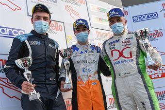 Podium race 2 TCR Italy DSG, TCR ITALY TOURING CAR CHAMPIONSHIP