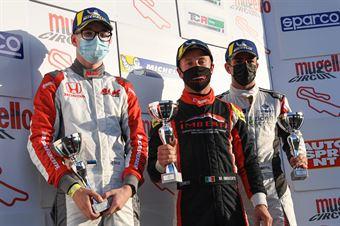 Podium race 2 TCR Italy Under 25, TCR ITALY TOURING CAR CHAMPIONSHIP