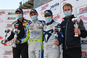 Podium TCR Italy race 1, TCR ITALY TOURING CAR CHAMPIONSHIP