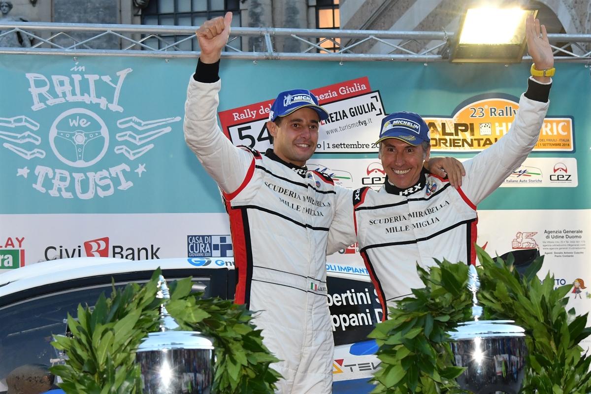 CAMPIONATO ITALIANO WRC - Michelin Rally Cup al Rally del
